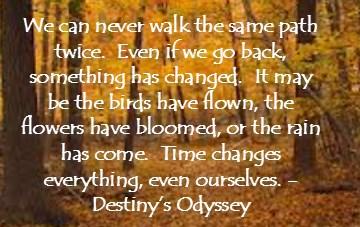 Walking the same path